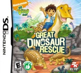 Go, Diego, Go! - Great Dinosaur Rescue DS cover (CGDE)