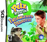 Petz Rescue - Endangered Paradise DS cover (CGQE)