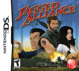 Jagged Alliance DS cover (CJAE)