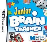 Junior Brain Trainer DS cover (CJWE)