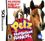 Petz - Horseshoe Ranch DS cover (CP8E)