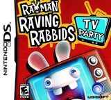 Rayman - Raving Rabbids - TV Party DS cover (CRIE)