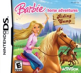 Barbie Horse Adventures - Riding Camp DS cover (CSCE)