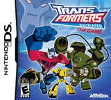 Transformers Animated - The Game DS cover (CTFE)