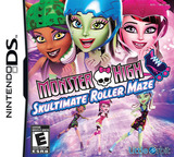 Monster High - Skultimate Roller Maze DS cover (TMHE)