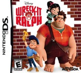 Wreck-It Ralph DS cover (TRWE)
