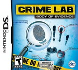 Crime Lab - Body of Evidence DS cover (VAOE)
