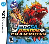 Fossil Fighters Champions DS cover (VDEE)