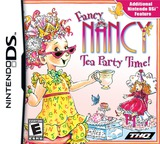 Fancy Nancy - Tea Party Time! DS cover (VFNE)