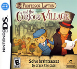 Professor Layton and the Curious Village (Demo) DS cover (Y49E)