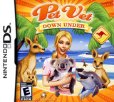 Pet Vet - Down Under DS cover (YA7E)