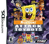 Nicktoons - Attack of the Toybots DS cover (YAYE)