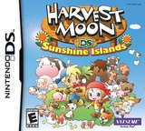 Harvest Moon DS - Sunshine Islands DS cover (YB3E)