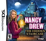 Nancy Drew - The Hidden Staircase DS cover (YIRE)