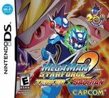 Mega Man Star Force 2 - Zerker x Saurian DS cover (YRWE)