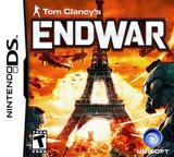 Tom Clancy's EndWar DS cover (YTEE)
