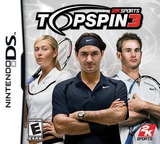 Top Spin 3 DS cover (YUXE)