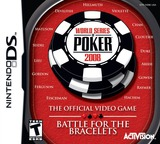 World Series of Poker 2008 - The Official Video Game - Battle for the Bracelets DS cover (YWBE)