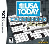 USA Today Crossword Challenge DS cover (YXYE)