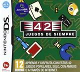 42 Juegos de Siempre DS cover (ATDP)