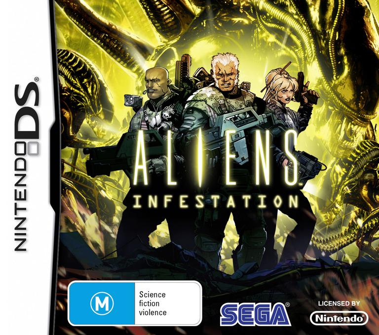 Aliens - Infestation DS coverHQ (B79P)