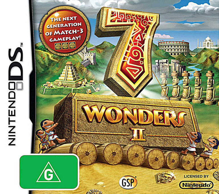 7 Wonders II DS coverHQ (B7WP)