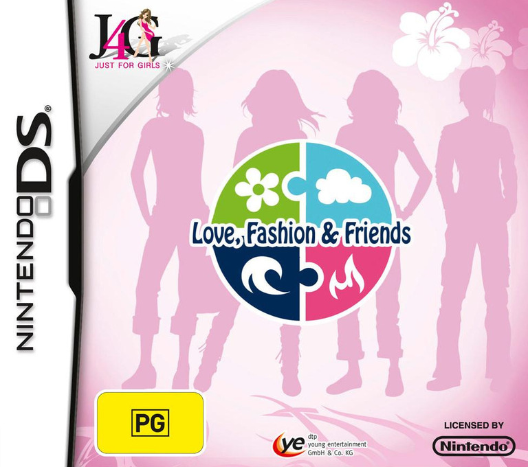 Element Girls - Love, Fashion & Friends DS coverHQ (CE9P)