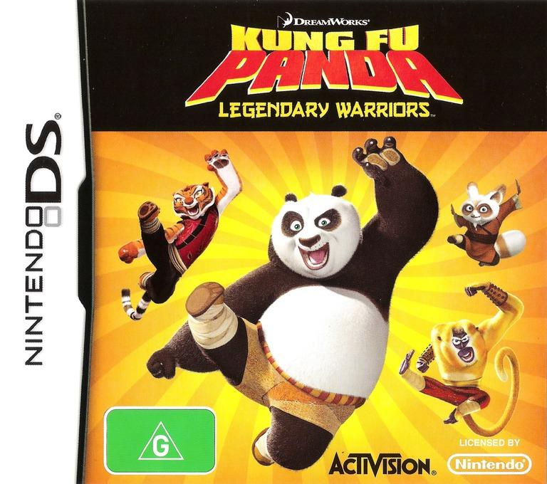 Kung Fu Panda - Legendary Warriors DS coverHQ (CKFP)