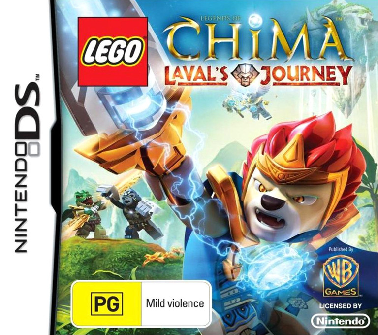 LEGO Legends of Chima - Laval's Journey DS coverHQ (TCBP)