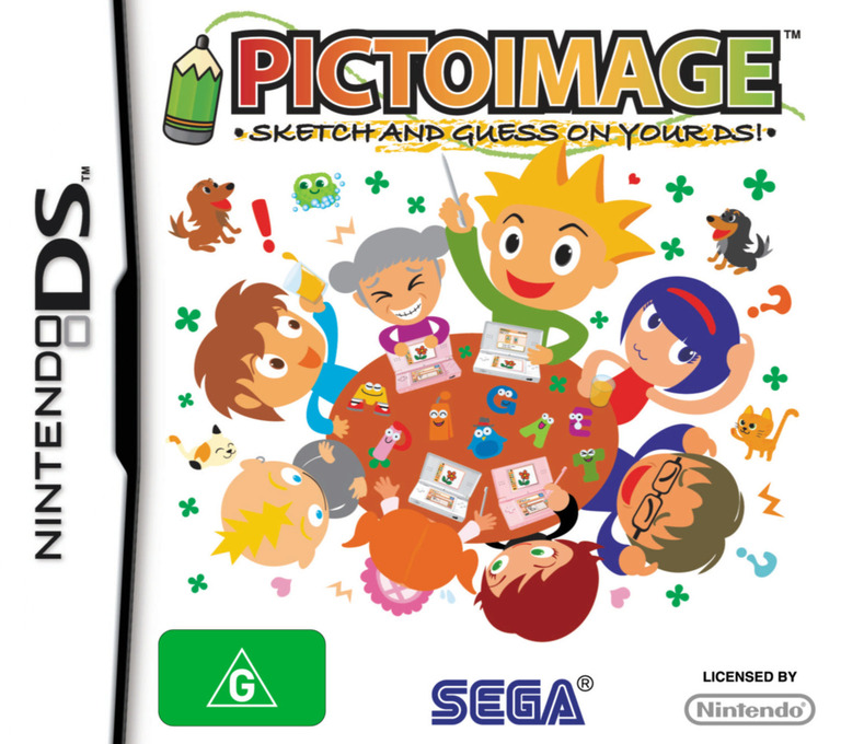 PictoImage - Sketch and Guess on Your DS! DS coverHQ (YPIP)