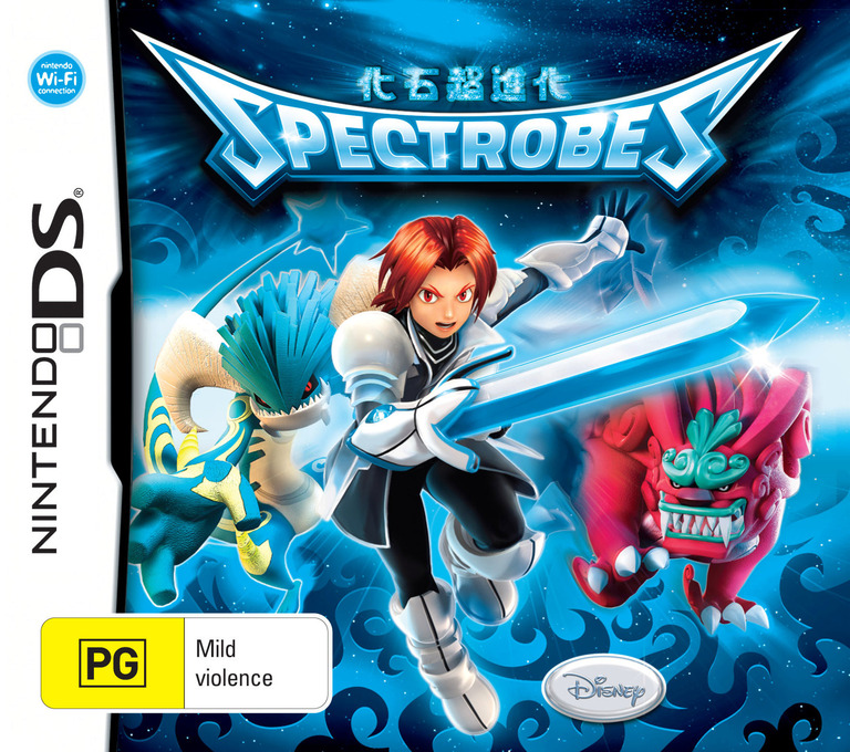 Spectrobes - Beyond the Portals DS coverHQ (YV4P)