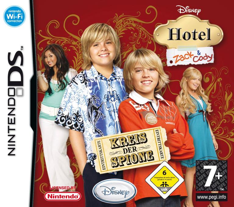 Hotel Zack & Cody - Kreis der Spione DS coverHQ (A3HP)