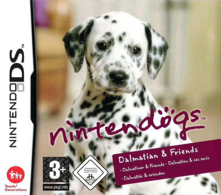 Nintendogs - Dalmatiner & Freunde DS coverHQ (AD7P)
