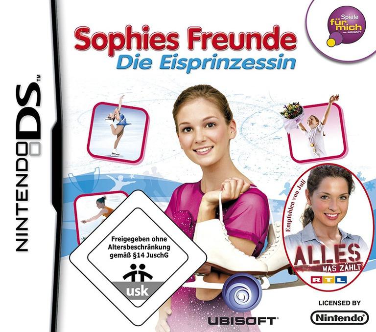 Sophies Freunde - Die Eisprinzessin DS coverHQ (AFQP)