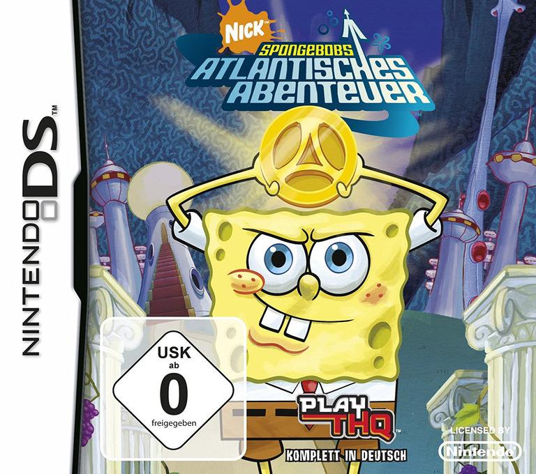 SpongeBob's Atlantisches Abenteuer DS coverHQ (AL3X)