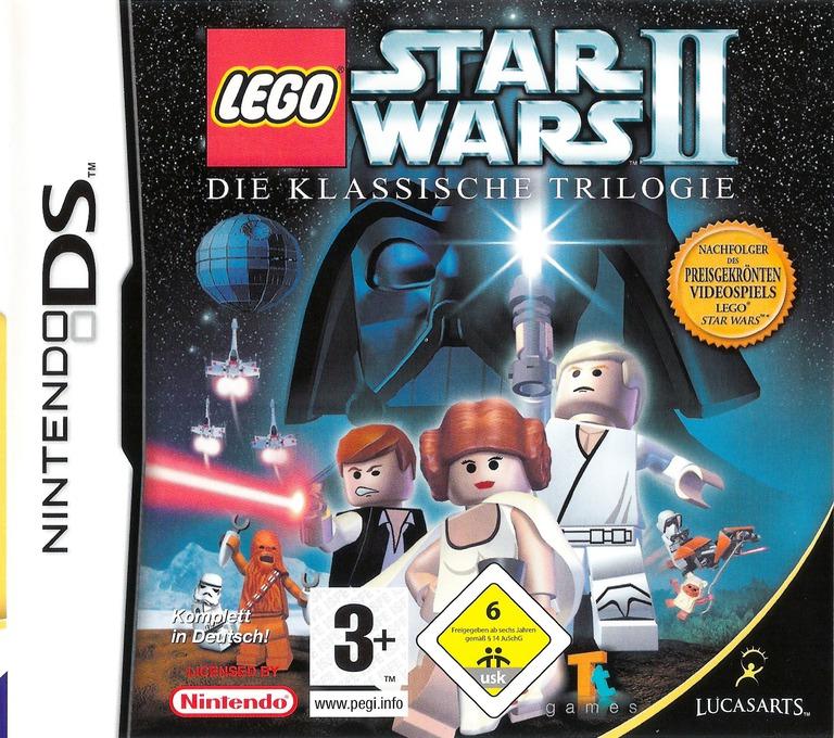 LEGO Star Wars II - Die klassische Trilogie DS coverHQ (AL7P)