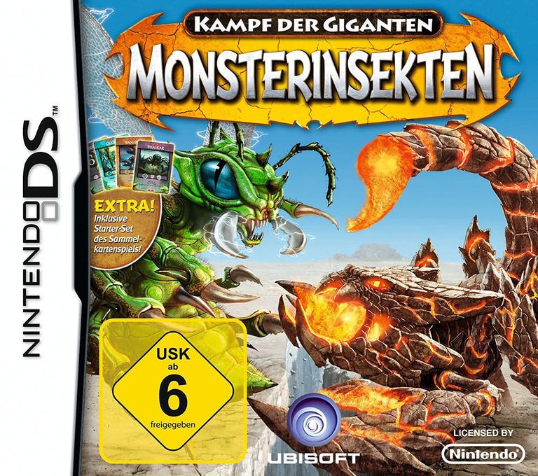 Kampf der Giganten - Monsterinsekten DS coverHQ (BIGP)