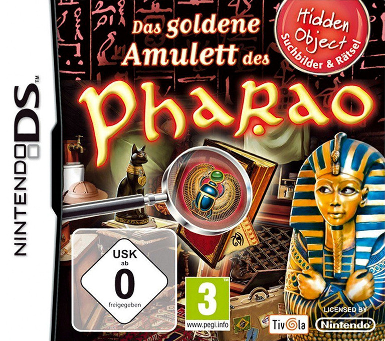 Das Goldene Amulett des Pharao DS coverHQ (BOUP)