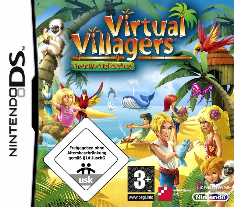 Virtual Villagers - Erschaffe dein Paradies! DS coverHQ (BVVP)