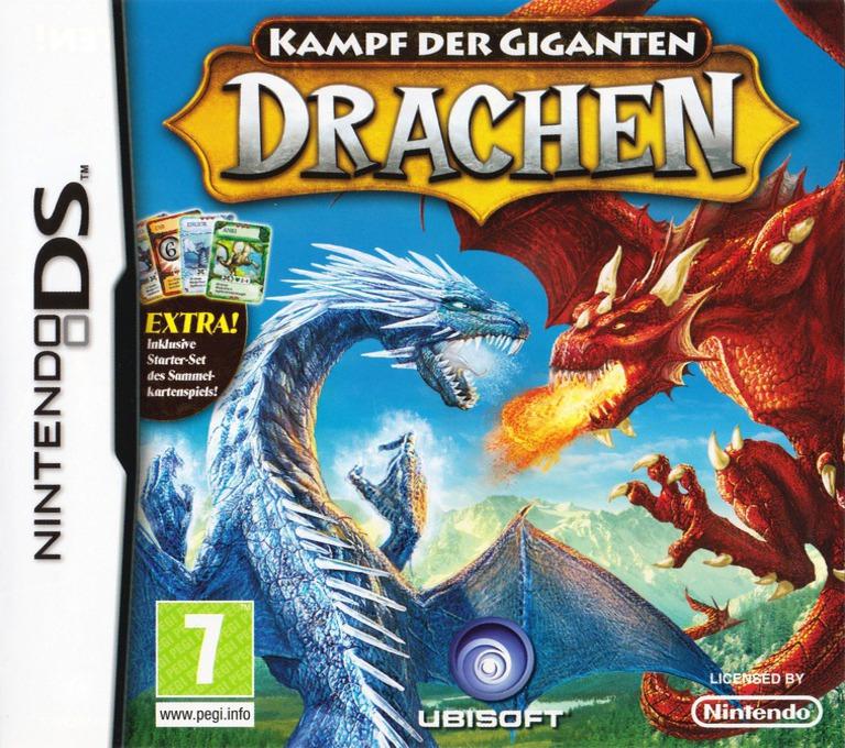 Kampf der Giganten - Drachen DS coverHQ (C7UP)