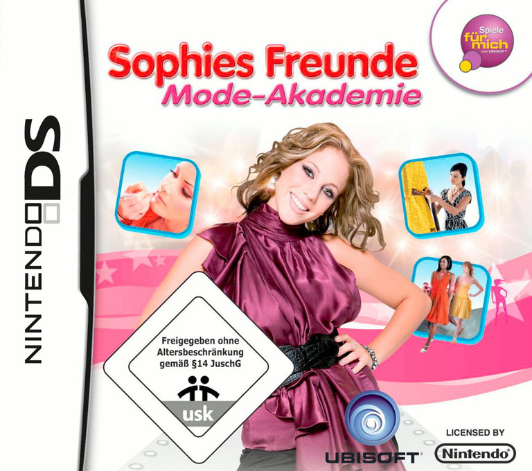 Sophies Freunde - Mode-Akademie DS coverHQ (CFDP)