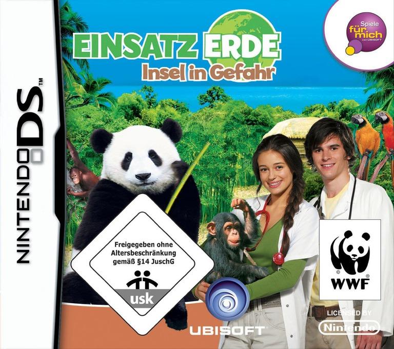 Einsatz Erde - Insel in Gefahr DS coverHQ (CGQP)