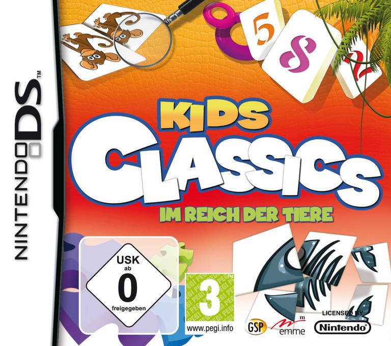 Kids Classics - Im Reich der Tiere DS coverHQ (CIJP)