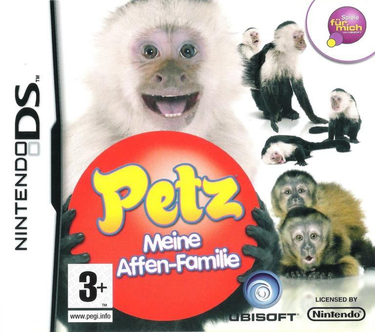 Petz - Meine Affen-Fanilie DS coverHQ (CM8P)