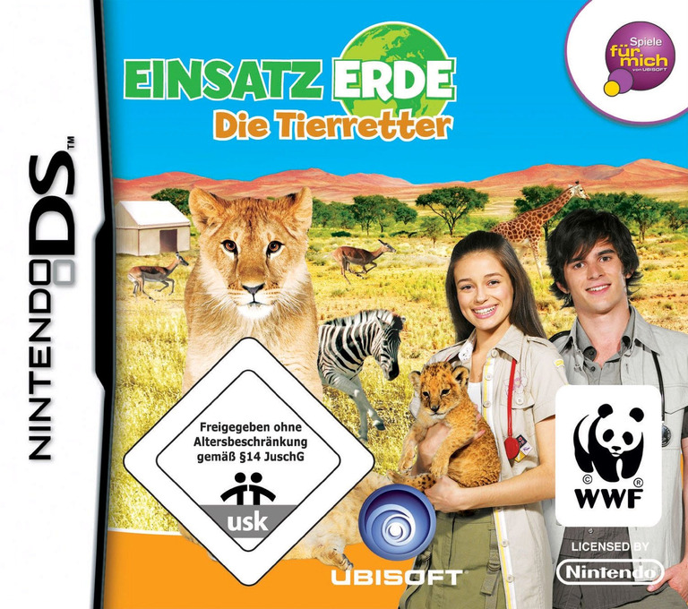 Einsatz Erde - Die Tierretter DS coverHQ (CPVP)