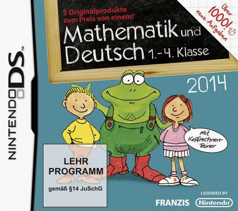 Mathematik und Deutsch - 1.-4. Klasse - 2014 DS coverHQ (TLND)