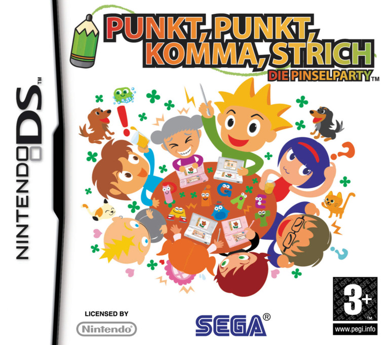 Punkt, Punkt, Komma, Strich - Die Pinselparty DS coverHQ (YPIP)