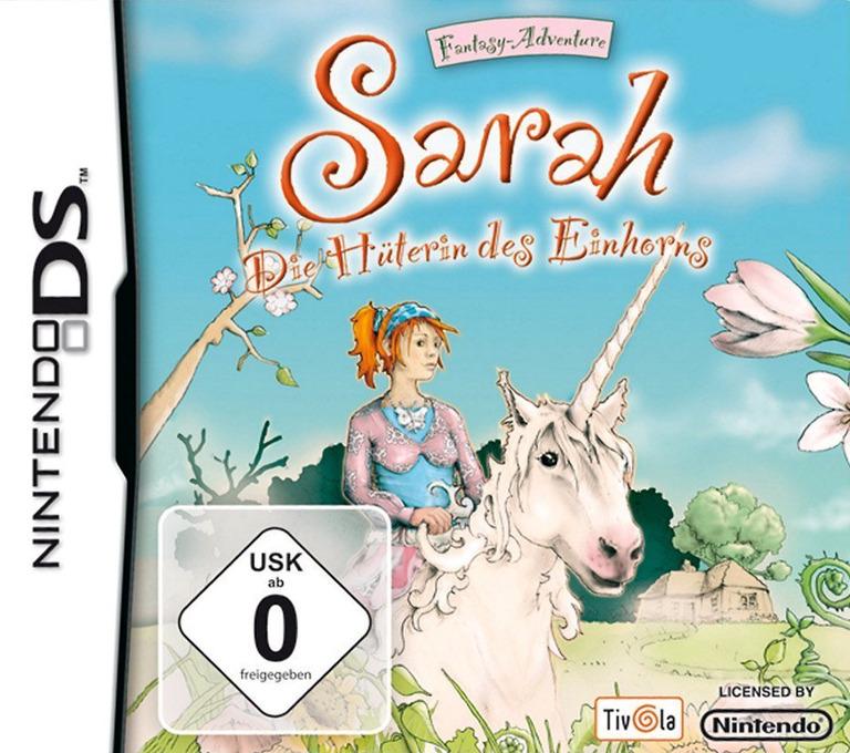 Sarah - Die Hüterin des Einhorns DS coverHQ (YSAX)