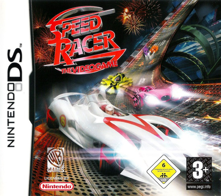 Speed Racer - The Videogame DS coverHQ (YYRP)