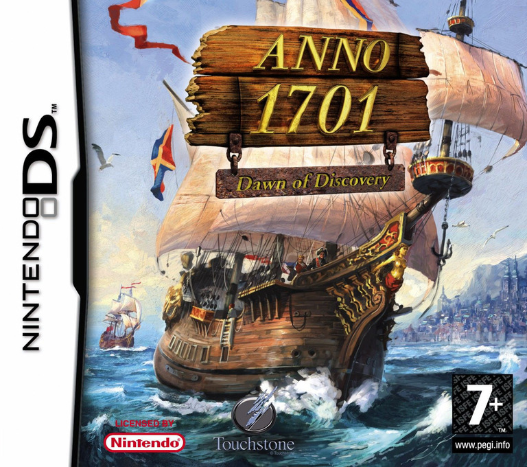Anno 1701 - Dawn of Discovery DS coverHQ (A2LP)